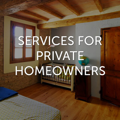 Emu Architects - services for private homeowners