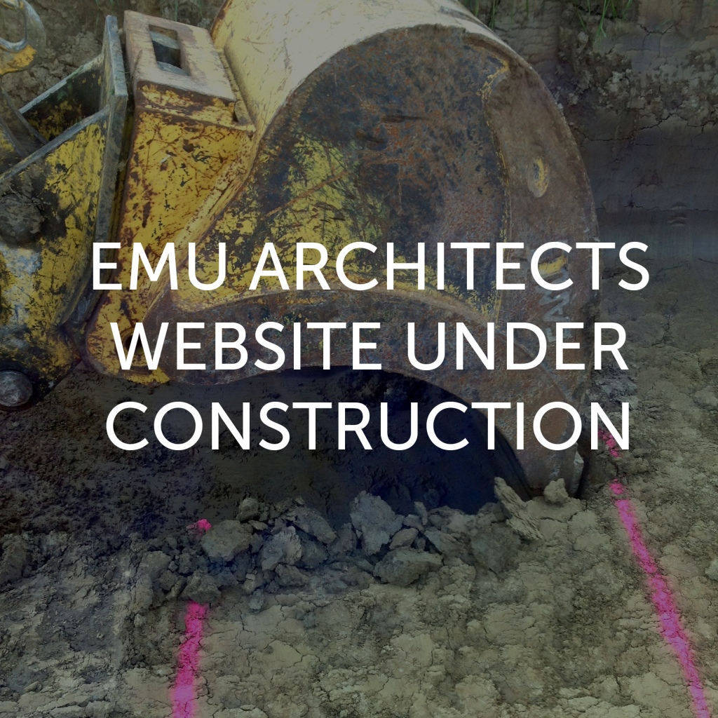 Emu Architects website under construction