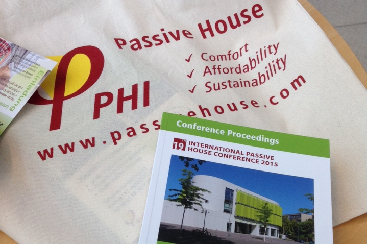 2015 International Passivhaus Conference in Leipzig