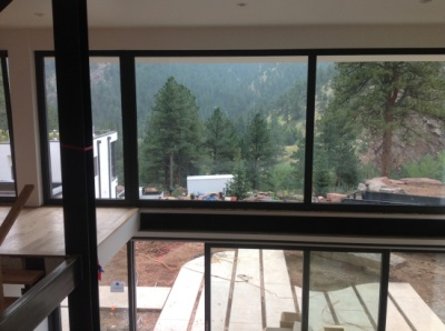 A passive house in Boulder