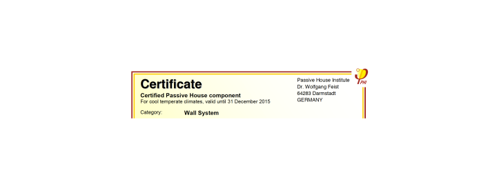 PHI certificate cut out