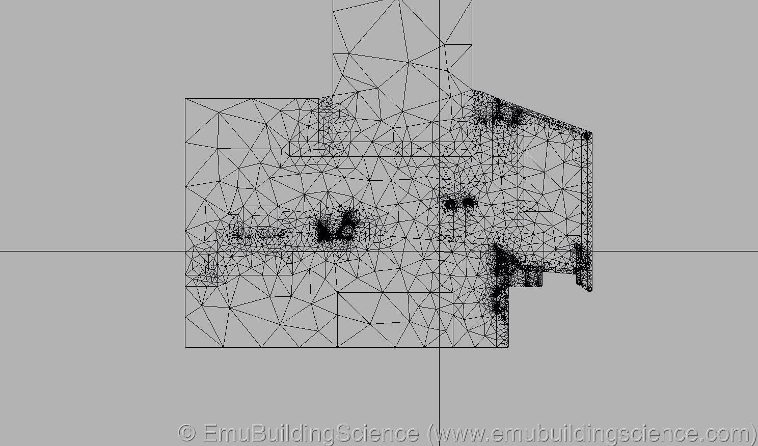 Emu - window sill finite elements