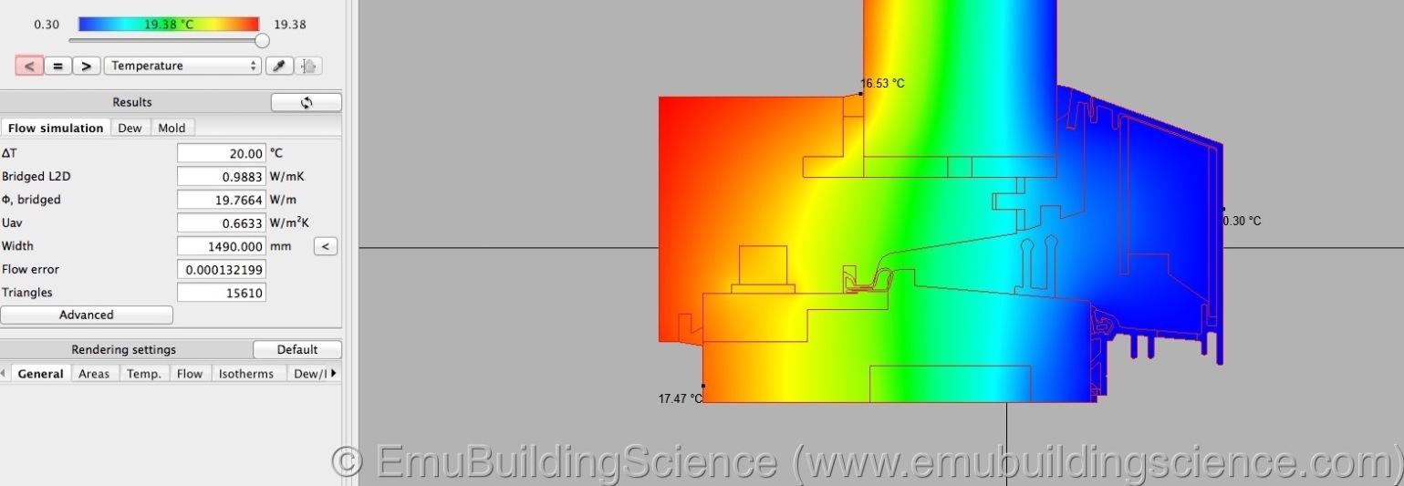 Emu - window sill L2D calculation