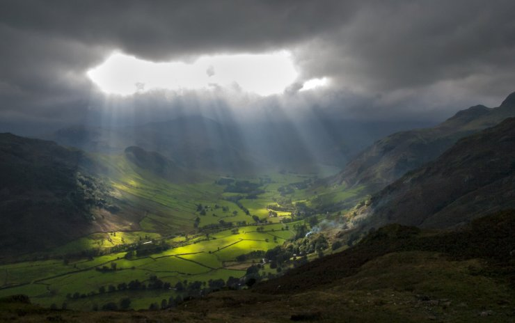 light-through-clouds