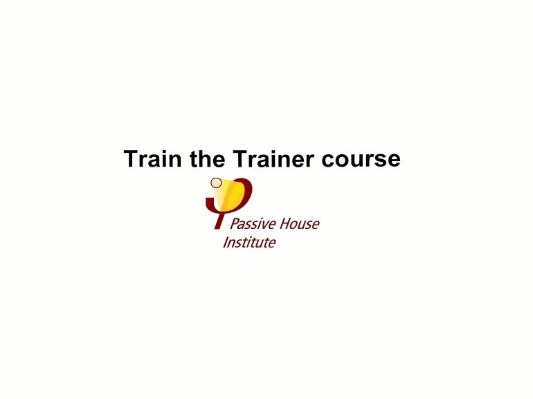 Train the trainer 7